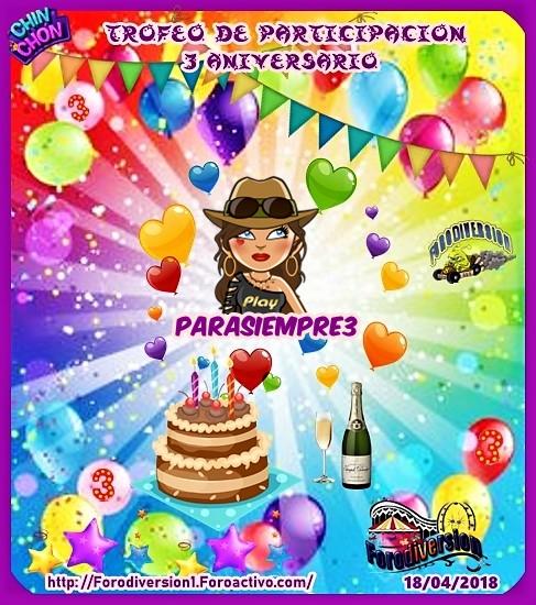 TROFEOS DE PARTICIPACION DE 3º ANIVERSARIO DE FORODIVERSION  Parasi10