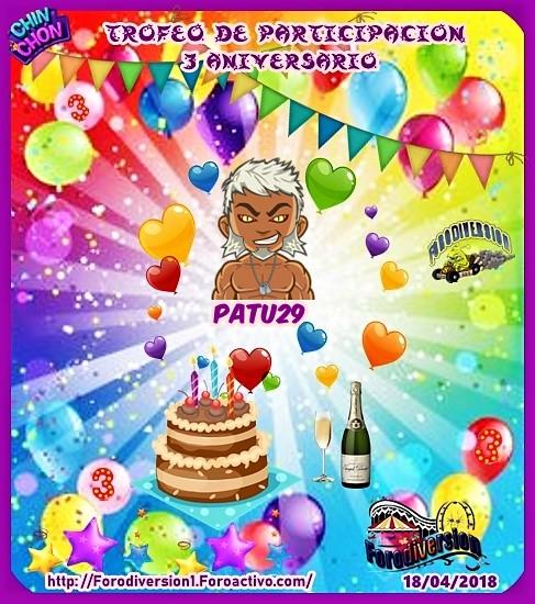 TROFEOS DE PARTICIPACION DE 3º ANIVERSARIO DE FORODIVERSION  Patu2910