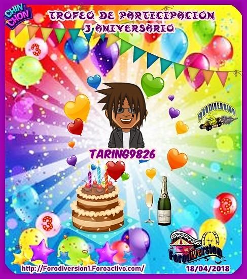 TROFEOS DE PARTICIPACION DE 3º ANIVERSARIO DE FORODIVERSION  Taring10