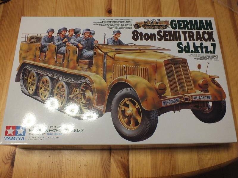 Sd.Kfz 7 - 8 ton semi-track - Tamiya 35148 - 1/35 Dscf2055
