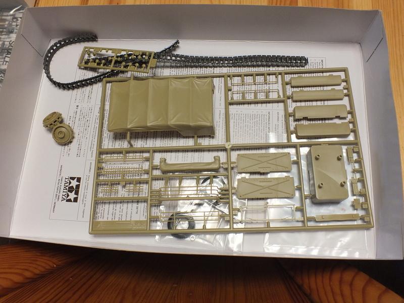 Sd.Kfz 7 - 8 ton semi-track - Tamiya 35148 - 1/35 Dscf2057