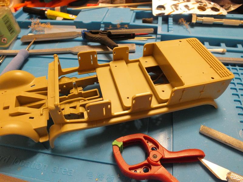 Sd.Kfz 7 - 8 ton semi-track - Tamiya 35148 - 1/35 Dscf2059