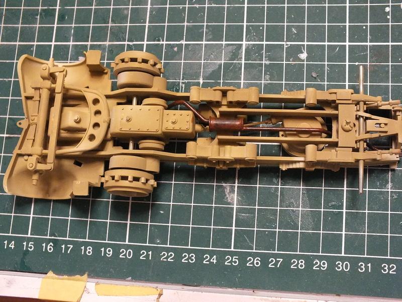Sd.Kfz 7 - 8 ton semi-track - Tamiya 35148 - 1/35 Dscf2068