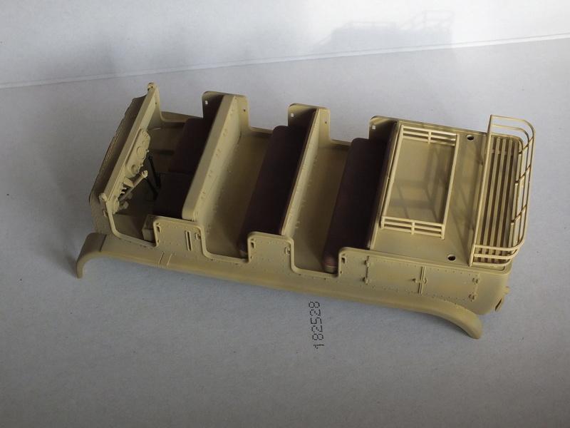 Sd.Kfz 7 - 8 ton semi-track - Tamiya 35148 - 1/35 Dscf2071
