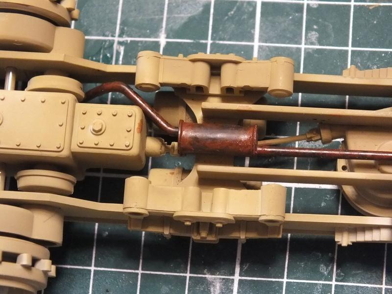 Sd.Kfz 7 - 8 ton semi-track - Tamiya 35148 - 1/35 Dscf2076