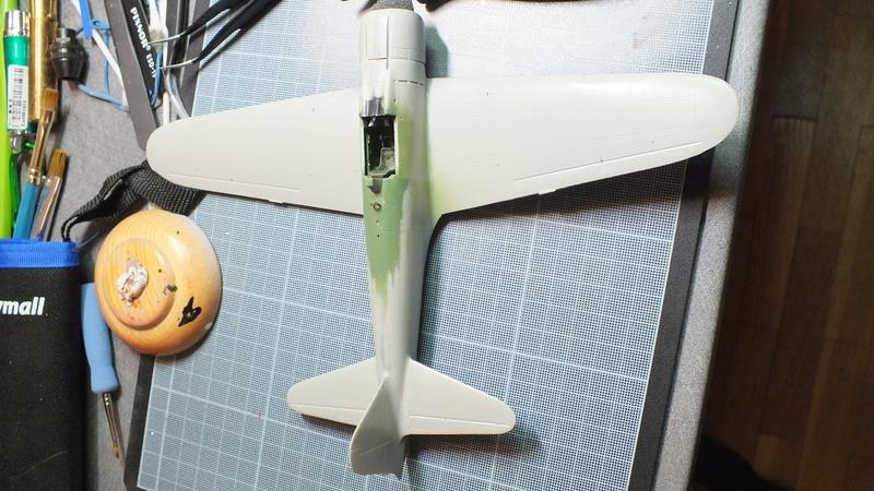 A6M2 type 21  Tamiya ref:61016 from the box, avion capturé par les américains - 1/48 Dscf2111