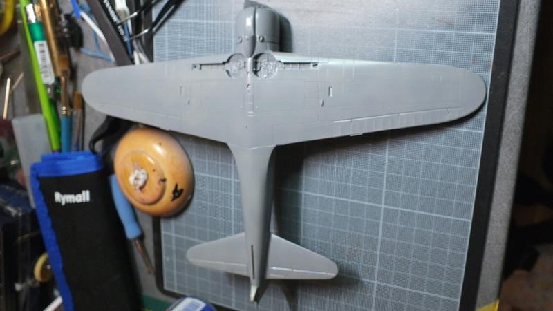 A6M2 type 21  Tamiya ref:61016 from the box, avion capturé par les américains - 1/48 Dscf2112