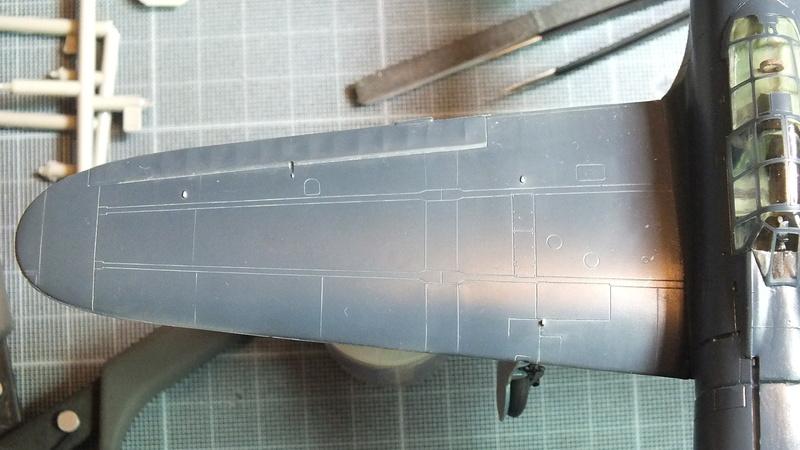 A6M2 type 21  Tamiya ref:61016 from the box, avion capturé par les américains - 1/48 Dscf2127