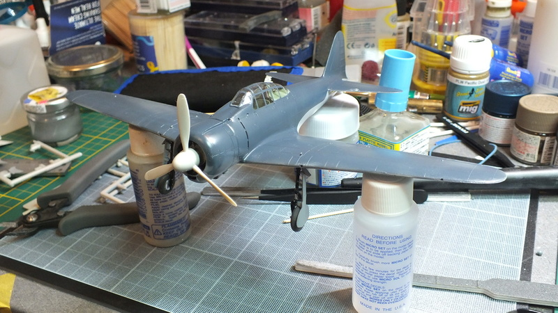 A6M2 type 21  Tamiya ref:61016 from the box, avion capturé par les américains - 1/48 Dscf2128