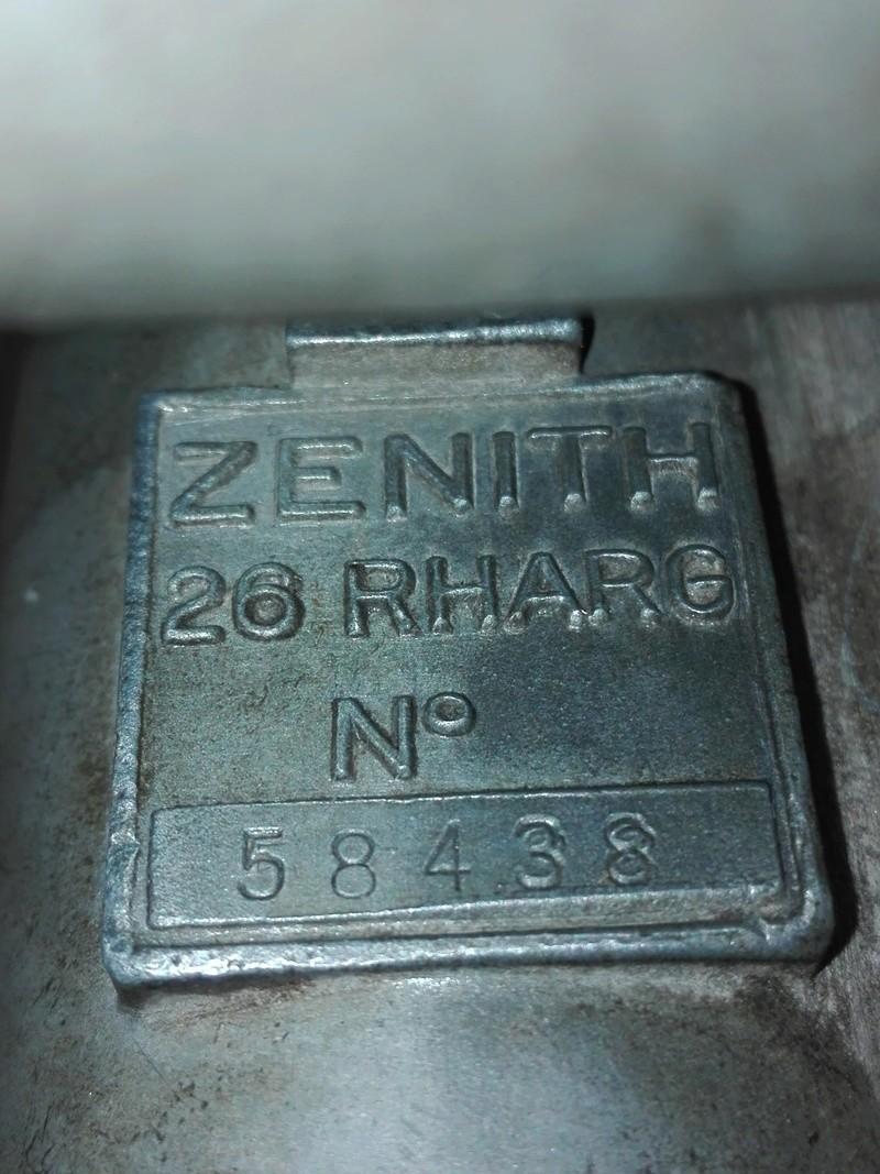 carburateur - Recherche affectation carburateur ZENITH 26RH ARG Img_2011