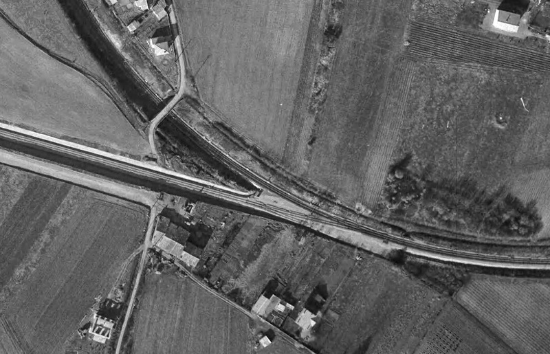 2 P.k.16.9 (ancien tracé) 1961/69 Contournement de Colomiers Colomi16