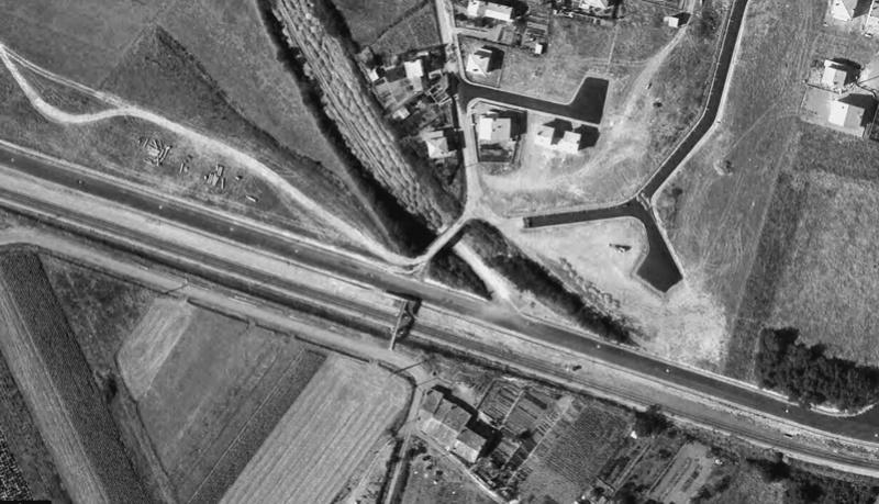 2 P.k.16.9 (ancien tracé) 1961/69 Contournement de Colomiers Colomi17
