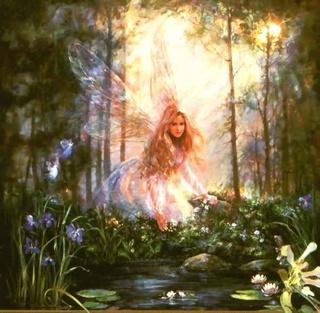 La forêt magique des fées Fee6810