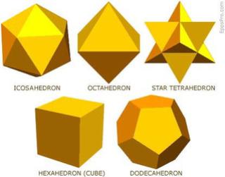 La géométrie sacrée Solide11