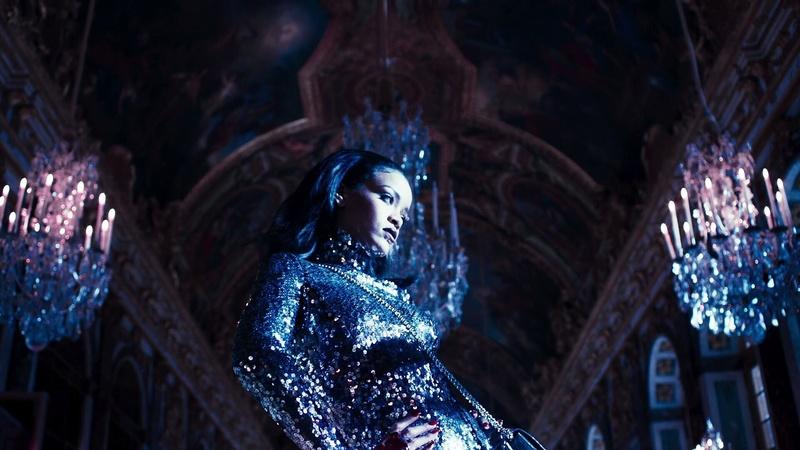 Rihanna en shooting au Château de Versailles Rihann10