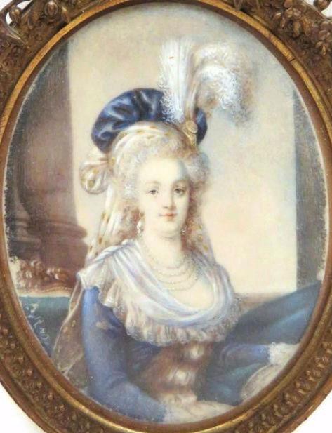 Marie-Antoinette au livre en robe bleue - Page 3 Sans_t12