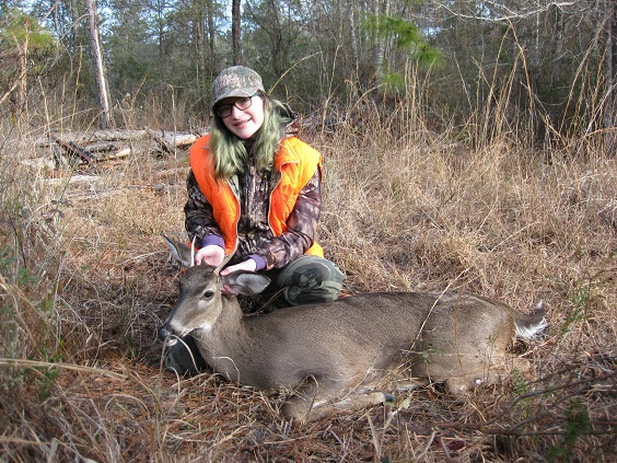 Took My Granddaughter Hunting Again. She Scored This Time. Klee_s11