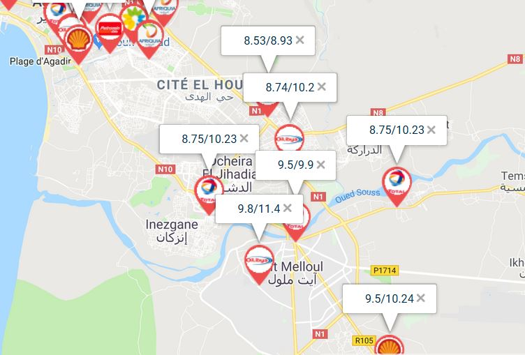 [Carburant, Routes, Police] Prix des carburants Gocapt10