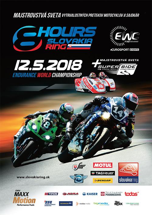 [Endurance 2018] 3è manche en Slovaquie samedi 12 mai 8-hour10