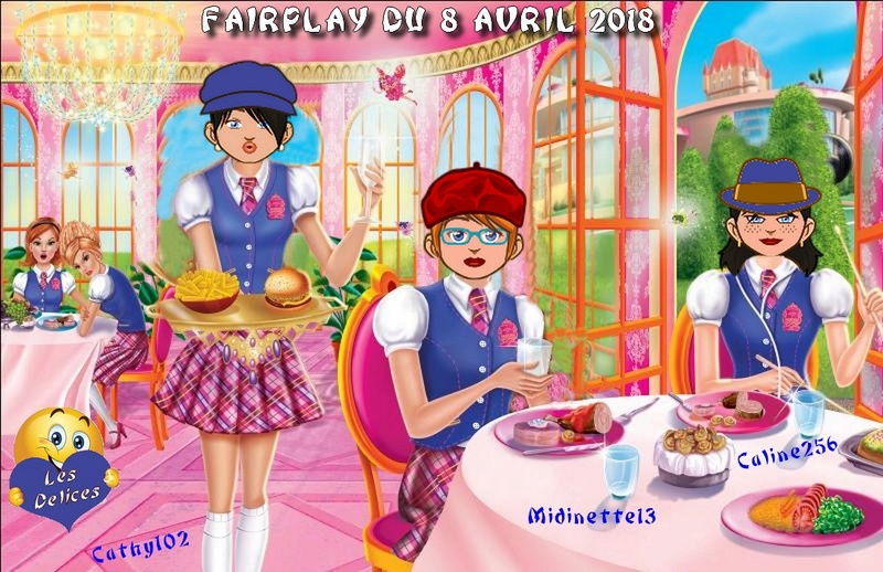 FAIRPLAYS DU 8 AVRIL 2018 Caline19