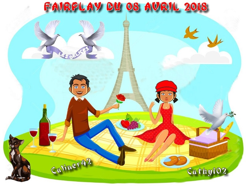 FAIRPLAYS DU 8 AVRIL 2018 Caline20