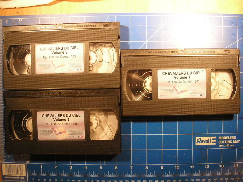 CHEVALIERS DU CIEL - VHS Cheval11