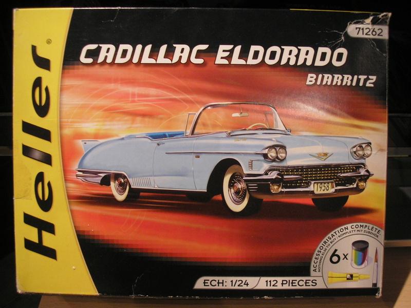 CADILLAC Eldorado Biarritz - 1/24ème Heller13