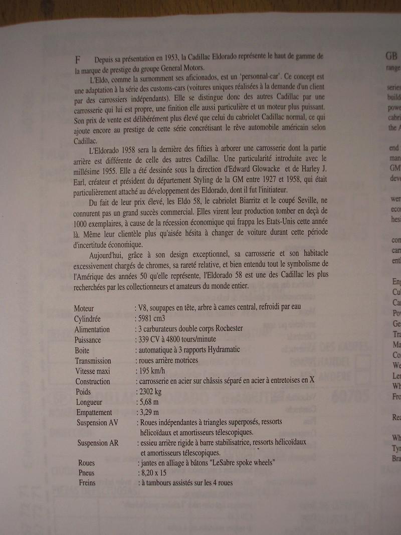 CADILLAC Eldorado Biarritz - 1/24ème Heller29