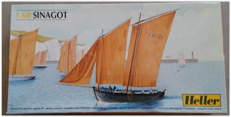 Navire de pêche SINAGOT 1/60ème Réf 80605 Scree225