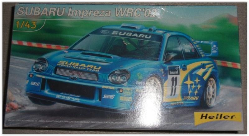 SUBARU IMPREZA WRC'02 Réf 1/43ème 80199 Scree252