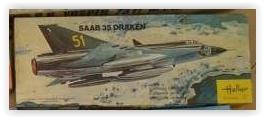 SAAB 35 DRAKEN 1/72ème Réf 255 Screen31