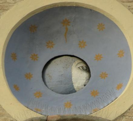 Les cadrans du clocher de l'eglise de Tolentini - Italie As-tol18