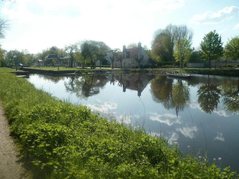 Eurovélo 3, canal du Loing, canal de Briare P1080016