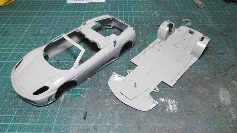 Ferrari F430 Spider Revell Img_1273