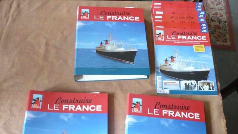 maquette paquebot France collection Hachette P1250411