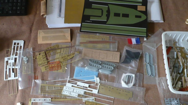 maquette paquebot France collection Hachette P1250512