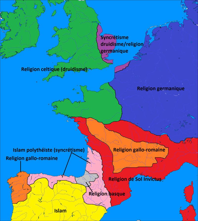 Une carte des différentes traditions Bchomp10