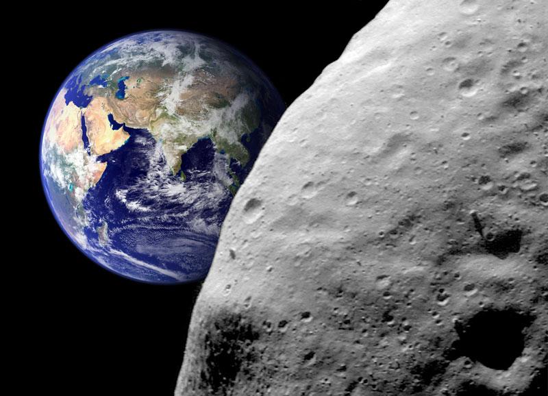 Le 12 octobre 2017, un astéroïde frôle la Terre Astero10