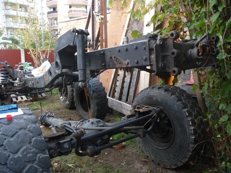 Déboitement des ressorts arrière U 1300 P1100613