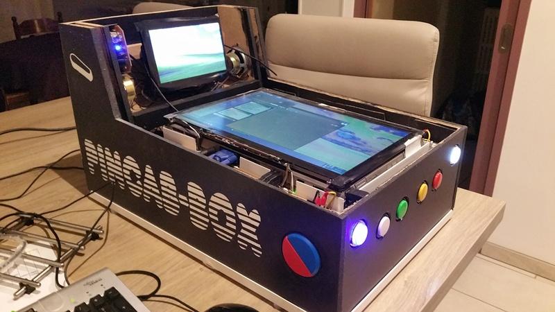 [TERMINÉ] Création d'un mini PincabBox avec un ordinateur portable 20180310
