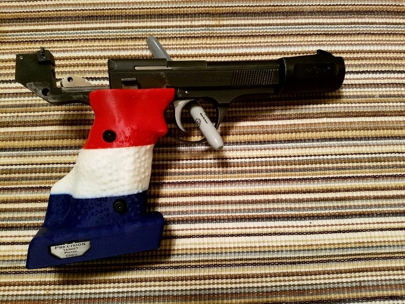 Left hand grip - for the S&W Victory by Andrew (Precision Pistol Grip) 20171111