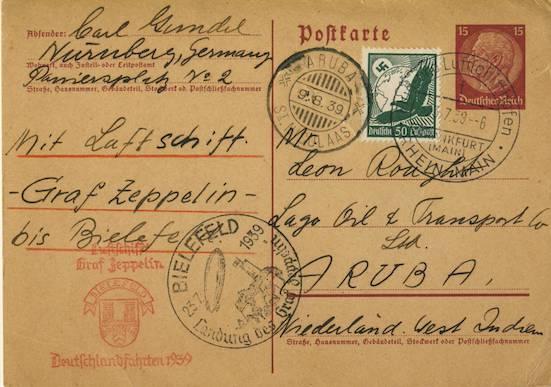 nach - Zeppelin - ungewöhnliche und seltene Destinationen Aruba110
