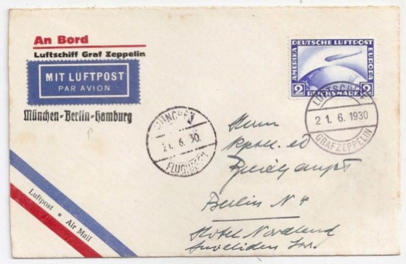 nach - Südamerikafahrt 1930, Post nach Lakehurst - Seite 4 Breith10