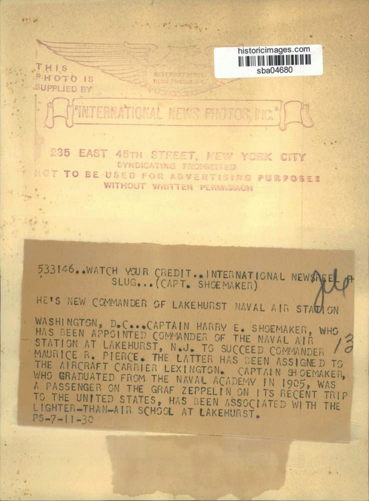 nach - Südamerikafahrt 1930, Post nach Lakehurst - Seite 4 Shoema13