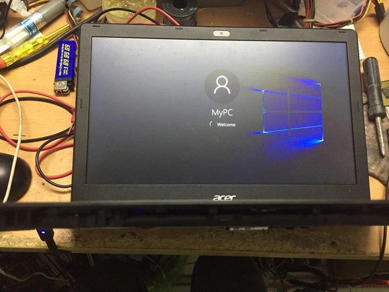 [Acer] Aspire V3-372-59AB ăn dòng 5,7A max ( đèn adapter nháy nháy ) 22835510