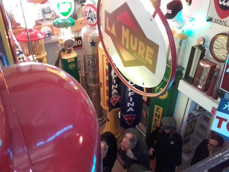 un petit Musée privé sur le thème des vieilles pompes à essence 20180318