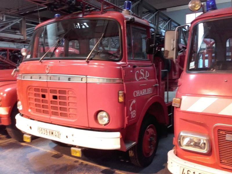 Des camions à gogo....Musée des sapeurs pompiers de Lyon - Page 4 20180333