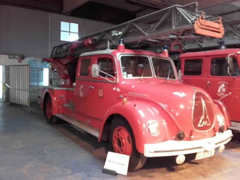 Des camions à gogo....Musée des sapeurs pompiers de Lyon - Page 4 20180346