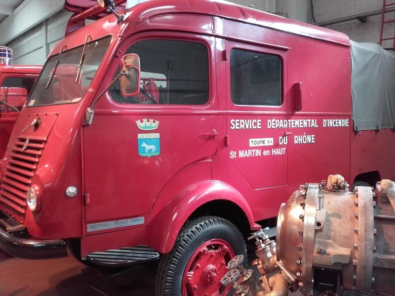 Des camions à gogo....Musée des sapeurs pompiers de Lyon - Page 4 20180348