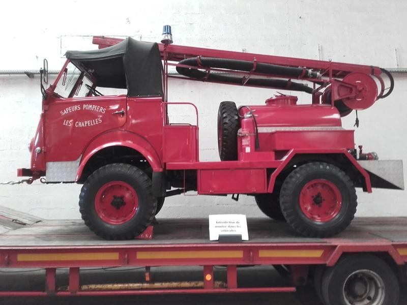 Des camions à gogo....Musée des sapeurs pompiers de Lyon - Page 4 20180350